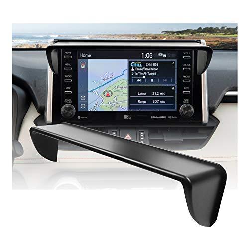 C-HR-RAV4-Navigation-Sun-Shade-Visor Compatible for Toyota RAV4 2019-2020 GPS Sun Shade Cover Compatible with Toyota C-hr 2016-2020,Anti Glare and Reflection from Navigator Screen