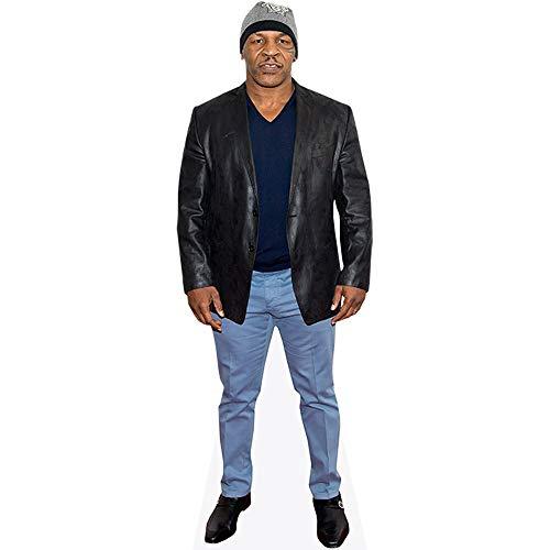 Celebrity Cutouts Mike Tyson (Leather Jacket) Pappaufsteller lebensgross