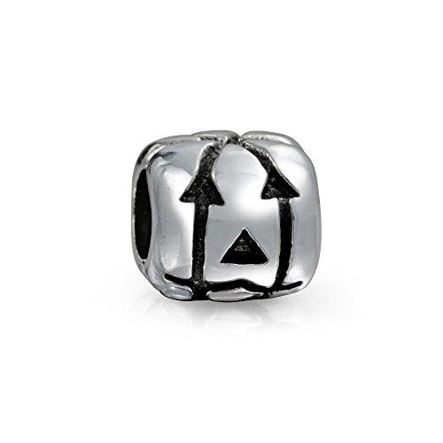 Jack O Lantern Halloween Kürbis Quadrat Charm Bead Für Damen Für Jugendlich 925 Sterling Silber Für Europäische Armband