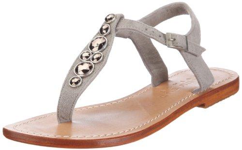 Mer du Sud Voyage Damen Sandalette Fashion-Sandalen, Grau/Suede Dark Grey, 38 EU