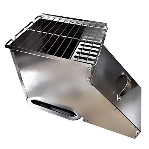 BANYANU Parrilla De Carbón, Estufa De Gas Natural para El Hogar Barbacoa De Gas Sin Humo Cocina Interior Parrilla De Barbacoa para El Hogar Brochetas Parrilla De Barbacoa