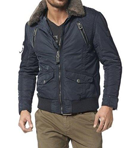Nagano Herren Winterjacke Winter Jacke blau XL