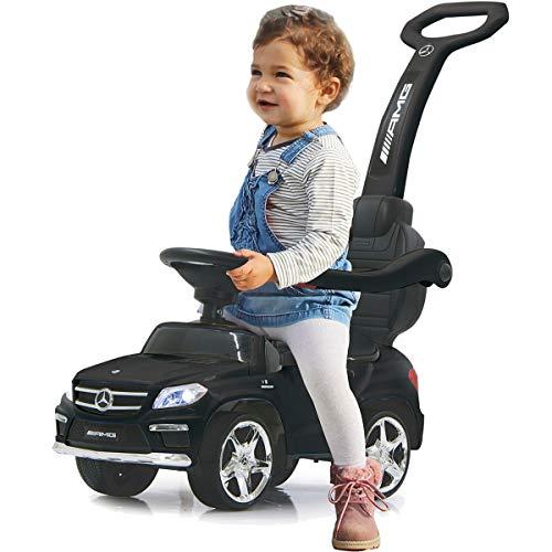 Stimo Mercedes Benz AMG Rutschauto (offiziell lizenziert) Kinder Fahrzeug Rutscher Auto (AMG GL63 SCHWARZ)