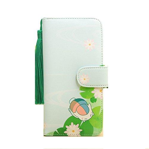 Siawasey Anime Natsume Yuujinchou Cosplay Cute PU Leather Purse Wallet For Female Girls (C)