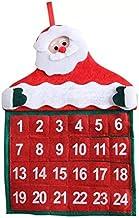 Calendario de adviento para Rellenar y Colgar - Hermoso Calendario de Navidad con números para Hombres, Mujeres y niños