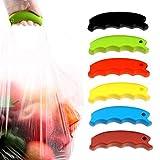Centraliain Tasche Trageclip Weiche Silikon Tasche Trageset Kreative Tasche Hängende Clip Shopping Küchengerät Zufällige Farbe