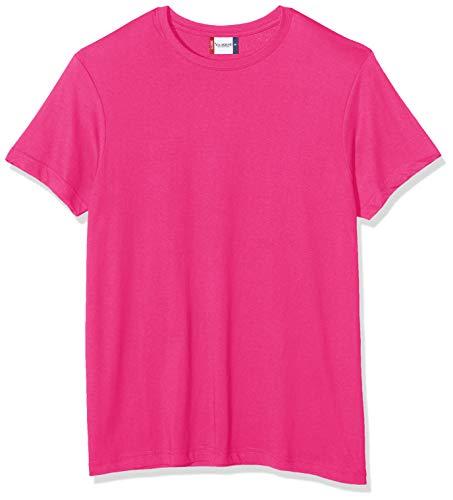 Clique Herren New Classic T-Shirt, Rosa (hellkirschfarben), M