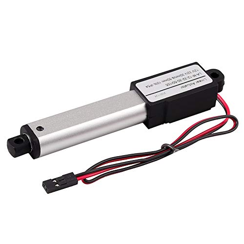 Justech 12V DC Mini Motor de Actuador Lineal 32N 50mm de Clase...