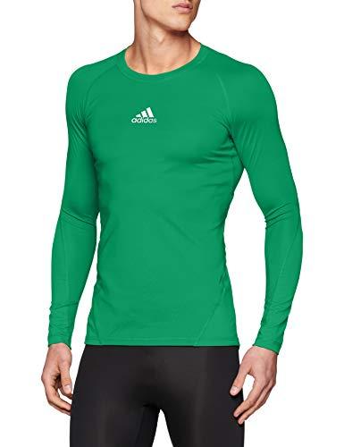adidas Herren Ask SPRT LST M Long Sleeved T-Shirt, Bold Green, XS