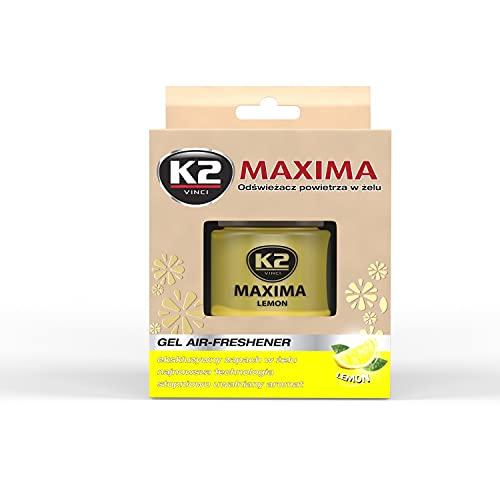 MAXIMA vůně 50ml CITRON K2 exkluzivní vůně gel pro auto a domov