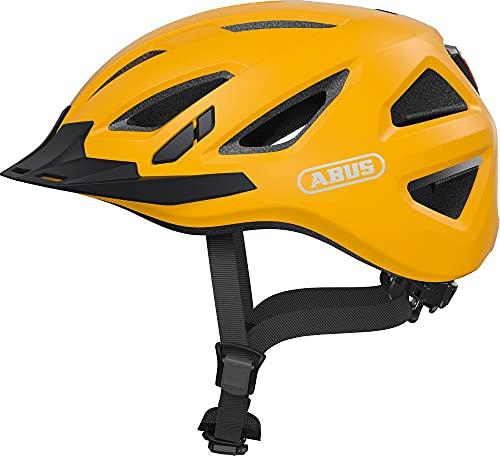 ABUS Unisex-Erwachsene URBAN-I 3.0 Fahrradhelm, Gelb (icon yellow), L (58-61)