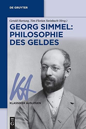 Georg Simmel: Philosophie Des Geldes: 71