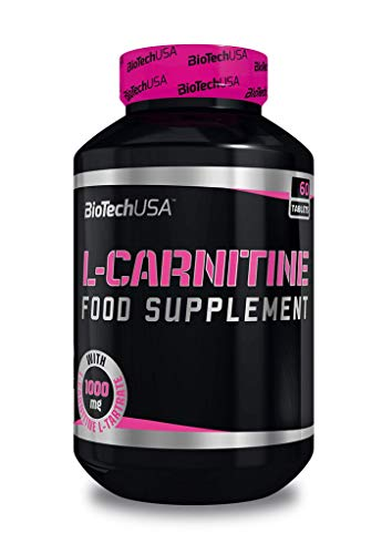 L-Carnitina 1000 mg 60 tabs Biotech USA