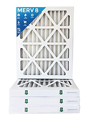 "16x20x2 MERV 8 AC Furnace 2"" Inch Air Filters - 12 PACK"