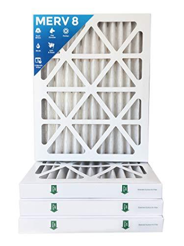 16x20x2 MERV 8 AC Furnace 2' Inch Air Filters - 12 PACK