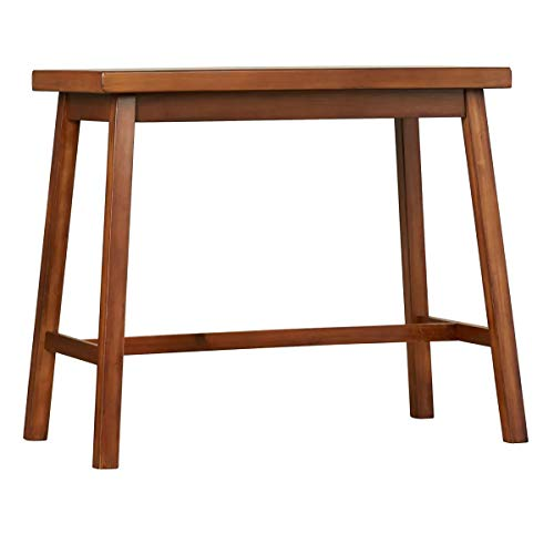 Carolina Cottage Asian Bar Table, Walnut Finish