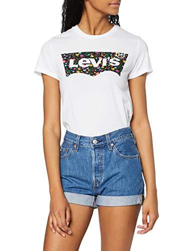 Levi's 501 Short Long Shorts in Denim, Sansome Ransom, 27W Donna