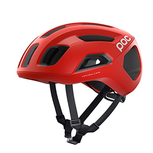 POC Ventral Air SPIN Casco Ciclismo Unisex Adulto, Rojo Prismane Red Matt,...