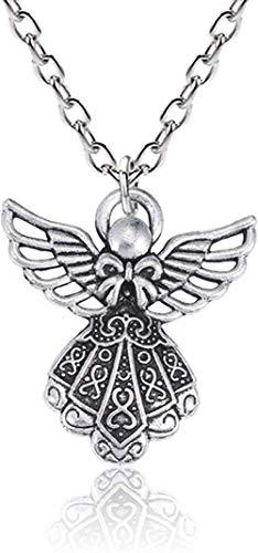 NC122 Colgante, Collar, Vintage, Punk, alas de ángel, Mujeres, Bricolaje, Hip Hop, Hada Hueca, Gargantilla, joyería para niñas