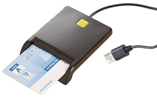 Xystec Chipcard Reader: USB-Chipkarten-Leser & Smartcard-Reader, HBCI-fähig für Homebanking (Chipkartenleser)