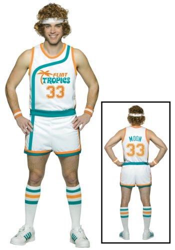 Semi-Pro Jackie Moon Flint Tropics costume PLUS size [Apparel] (disfraz)