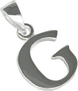 Forma di Lettere V in 925 Argento Piccolo Ciondolo