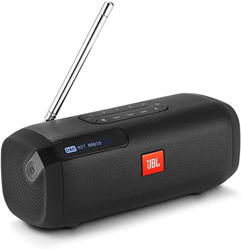 Speaker Bluetooth Portatile con Radio Digitale DAB/DAB+ e FM, Cassa Altoparlante Bluetooth con Display, Compatibile con MP3, fino a 8 Ore di Autonomia, Nero