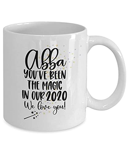 N\A 2020 Abba Abba Regalo cuarentena Regalo, embutidora de la Media, Regalo de cumpleaños de la Taza de café