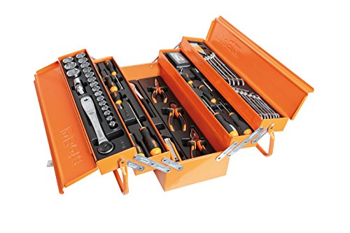 BETA EASY CANTILEVER TOOL BOX WITH 91 PCS OF...