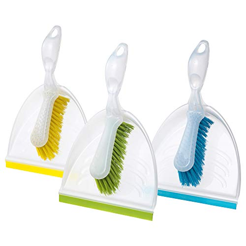 Ikea SOMMAR 2019 Dust pan and Brush, Assorted Colours
