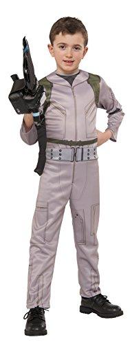 Rubies Costume Officiel Ghostbusters Combinaison avec Motif Baguette Magique Gonflable Proton – 2016 – Enfant Grand