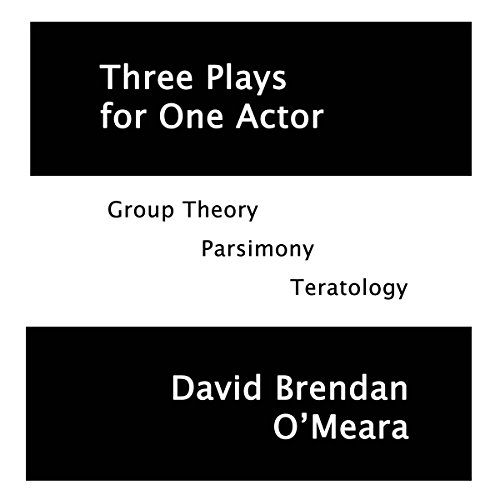 Three Plays for One Actor audiobook cover art