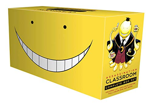 Compare Textbook Prices for Assassination Classroom Complete Box Set Reprint Edition ISBN 9781974710140 by Matsui, Yusei