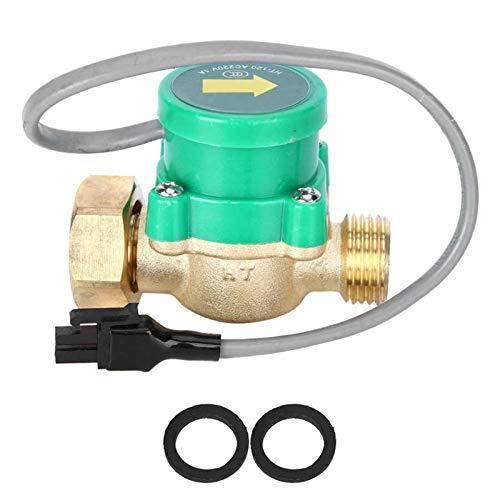 Hongfubang vástago de válvula Válvula de bola de tubería Bomba de agua Sensor de flujo Sensor de tubería Interruptor de presión electrónica Control automático Faucet 220V Actuador Válvula de b