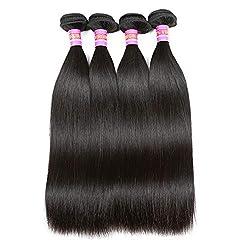 powerful RN BEAUTY Brazilian Straight Virgin Hair, 4 Bundles, Price 8A, Untreated Remy Hair, Mink Good Cheap …