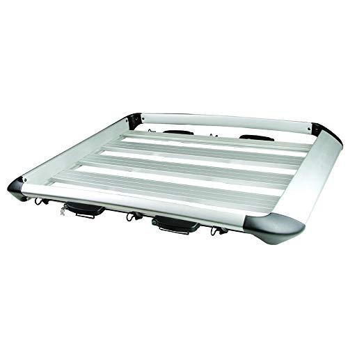 Dachträger Boxen Autobox Dachbox-Auto-große Kapazität Dachträger Aluminium Dachbox-265 Lb elegante und flexiblen Dach Basket fit for sperriges Ladegut Dachgep?cktr?ger Abschlie?bar ( Color : (S) )