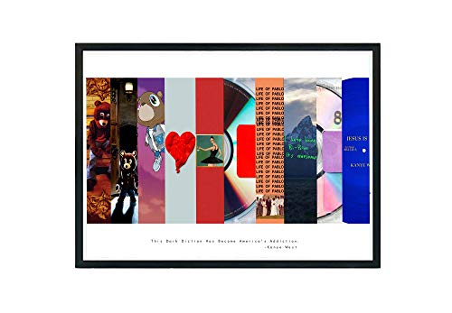 Custom Album Cover History Poster, Song Lyric Quote Digital Print 12x18 Living Room Bed Room Art (Frame NOT Included)