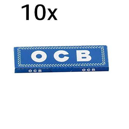 OCB Lot de 10 carnets de 50 feuilles de papier Bleu