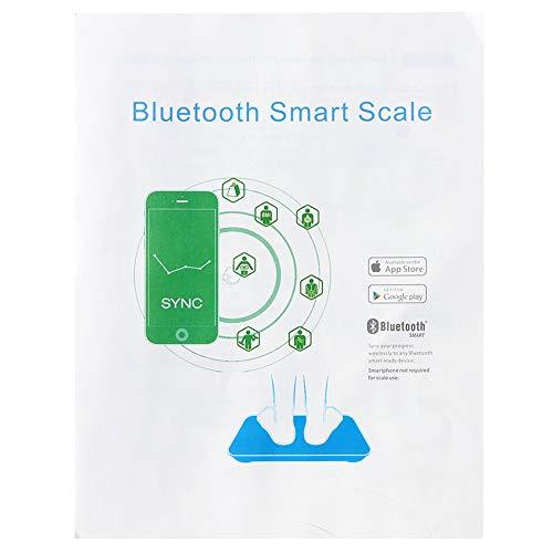 BITHEOUT Báscula de pesaje Negra, báscula electrónica, para Cocina doméstica y dormitorios, Entrega de pesaje, Frutas
