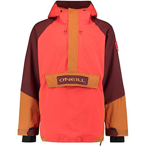 O'NEILL Pm Original Anorak Anorak Hombre Con Capucha, Hombre, Fiery Red, XL