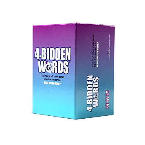 What Do You Meme? 4-Bidden Words Adult Party-Spiel
