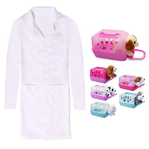 Disfraz infantil de veterinaria con accesorios (10-12 aos)