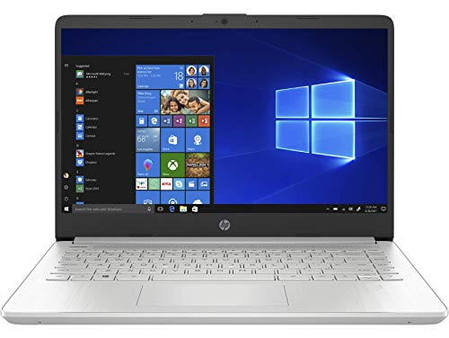 "HP 14s-dq1040ns - Ordenador portátil de 14"" FullHD (Intel Core i3-1005G1, 8GB RAM, 256GB SSD, Intel UHD Graphics, Windows 10 Home S) plata - Teclado QWERTY Español"