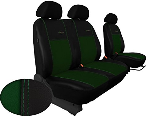 Sitzbezug Bus-bezüge für Mercedes VITO W447 maßgefertigt 1 + 2er Sitzbank in ALKANTRA. In diesem Angebot GRÜN (In 9 Farben bei Anderen Angeboten erhältlich)