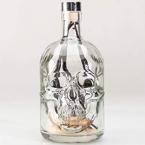Le Crâne en verre : Préparation rhum arrangé