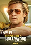 Once Upon A TIME IN Hollywood – Brad Pitt – Film Poster