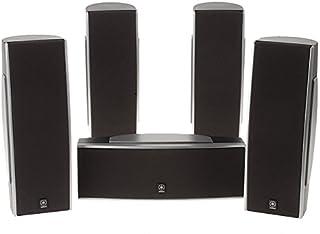 Yamaha NS-AP540 5 Speaker 3-Inch 2 Way Surround Sound System (Black)
