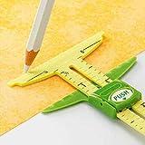Herramienta de costura de calibre deslizante 5 en 1 de alta calidad, regla de herramienta de patchwork, accesorios de herramienta de regla de sastre para uso doméstico