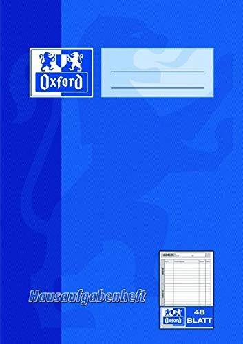 Oxford 100057950 Hausaufgabenheft - A5, 48 Blatt, sortiert