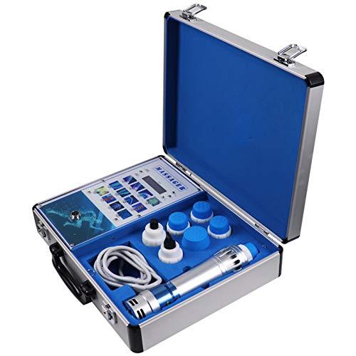 DEHOAD Máquina de Terapia de Ondas de Choque extracorpórea electromagnética masajeador de músculos Profundos masajeador de Alivio del Dolor de estimulación Muscular portátil